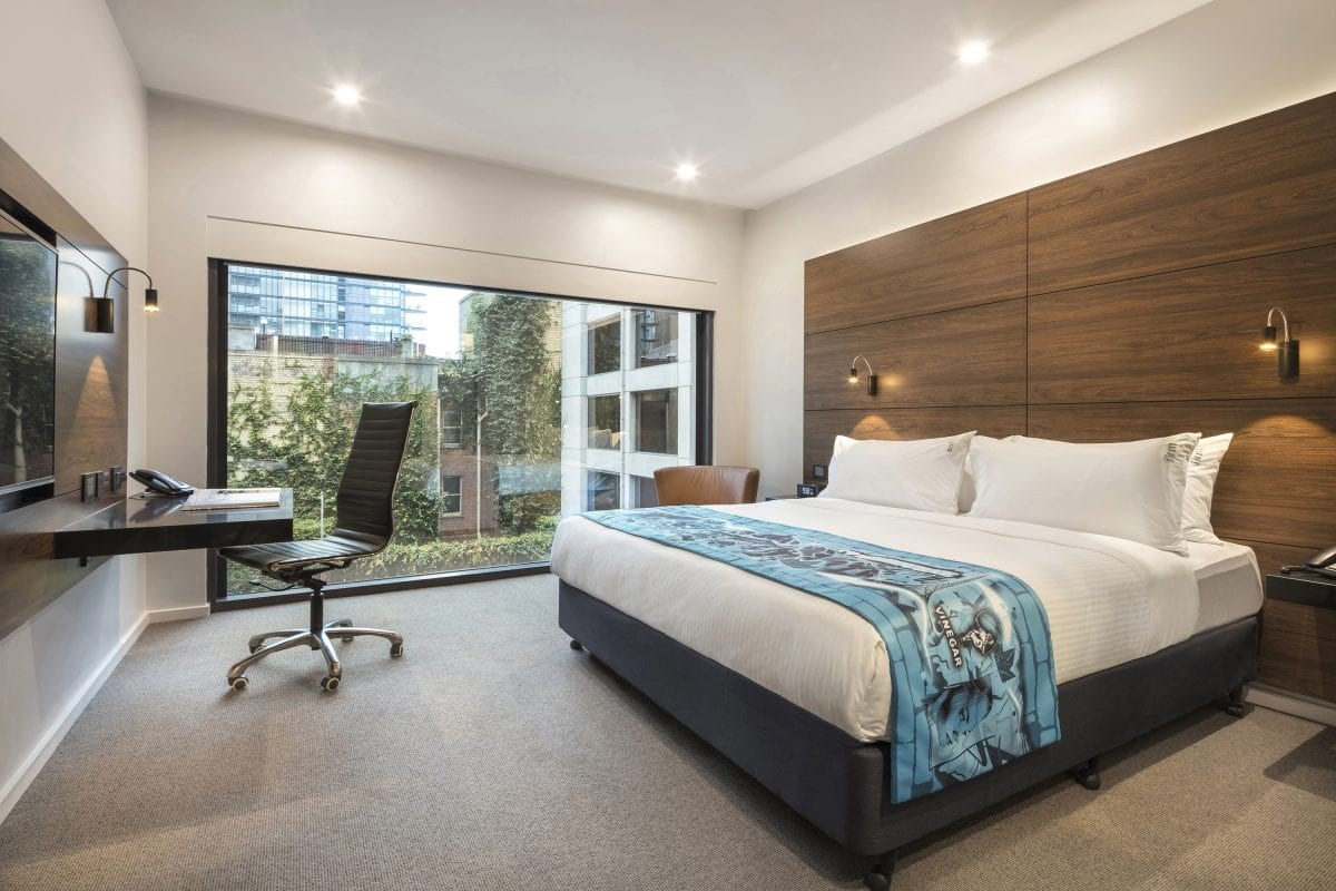 Hotel Rooms | Melbourne Accommodation | Holiday Inn Melbourne on Flinders
